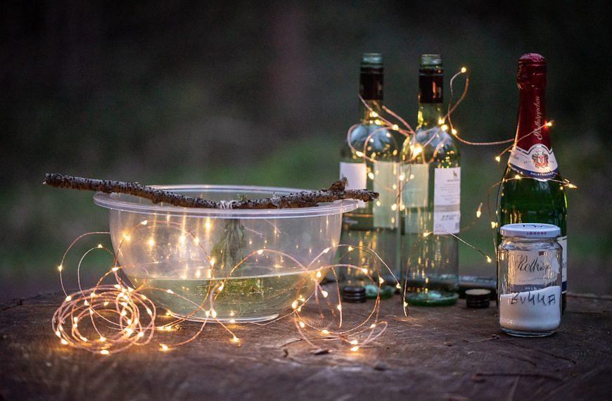 Aus dem Wald in die Küche: Waldmeisterbowle